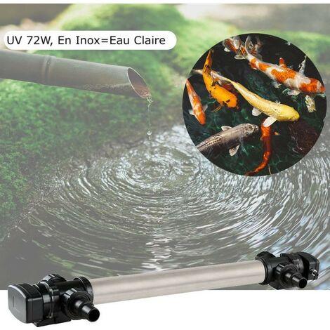 U.V INOX ( Ultra Violet ) 72W pour bassin de jardin de plus de 25 m³