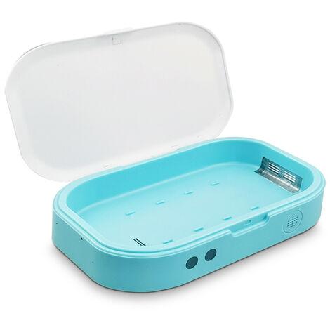 UV Sterilizer Box LED UV Light Disinfect Box UV Dust Mask Sanitizer Cleaner Disinfector