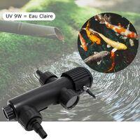 U.V ( Ultra Violet ) 9W pour aquarium et bassins de jardin