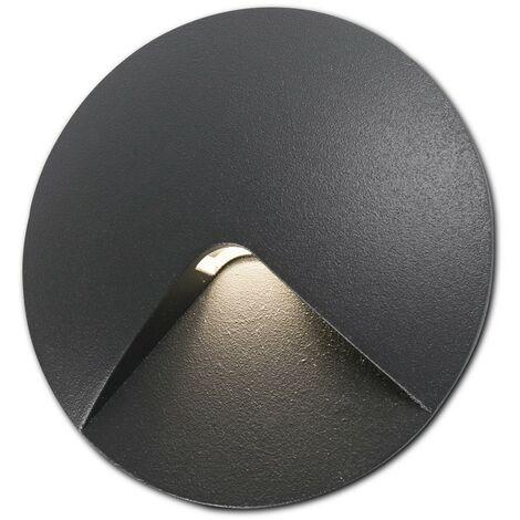 UVE Empotrable de pared gris oscuro de FARO - GRIS OSCURO