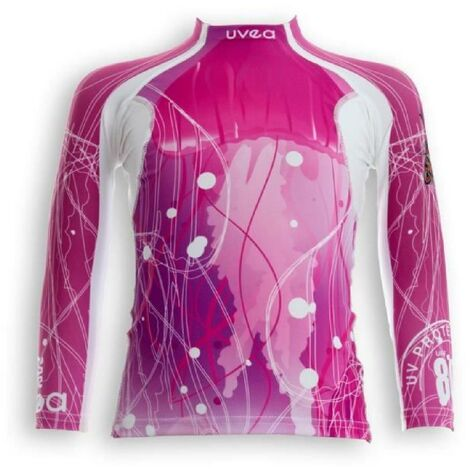 UVEA Teeshirt rashguard anti UV 80+ maillot manches longues INDIANA - Taille 2/4 ans - Imprimé jellyfish Aucune