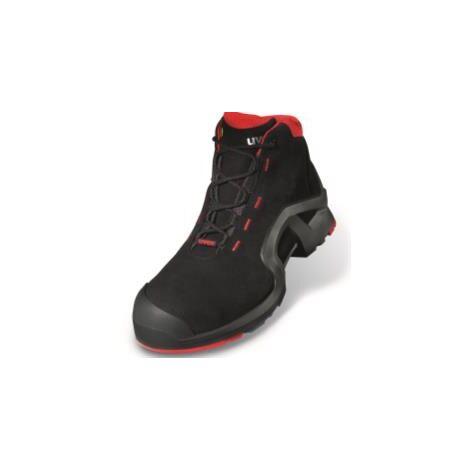 707b321f5d3334 Uvex 8517.2 Size 12 Black/Red 1 Safety Shoe