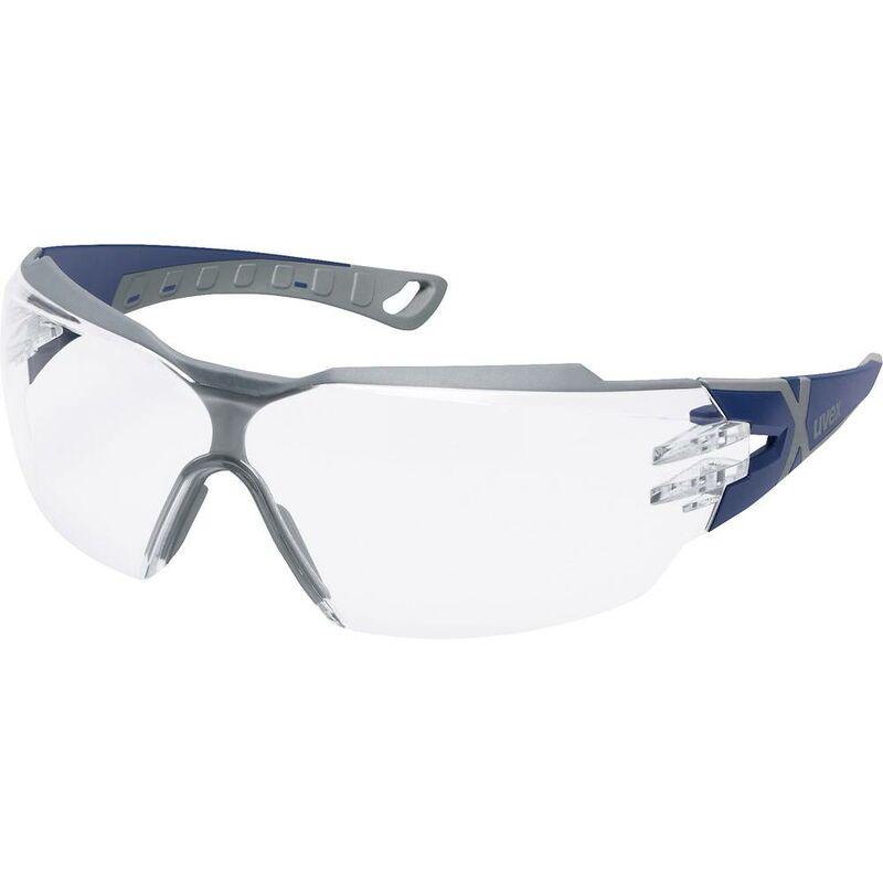 schwarz//weiß kratzfest beschlagfrei sv UVEX Schutzbrille sportstyle gr. exc