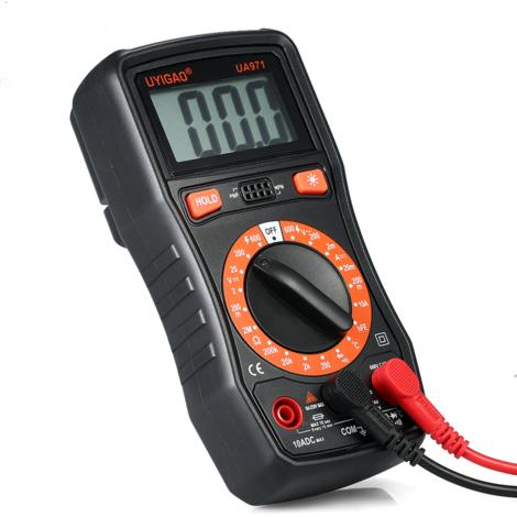 Uyigao Multimetre Voltmetre, Ohmmetre Mesure De Tension