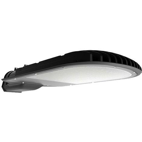 V-TAC PRO VT-101ST Réverbère LED Street light 100W chip samsung meanwell blanc neutre 4000K aluminium gris mat IP65 - sku 535