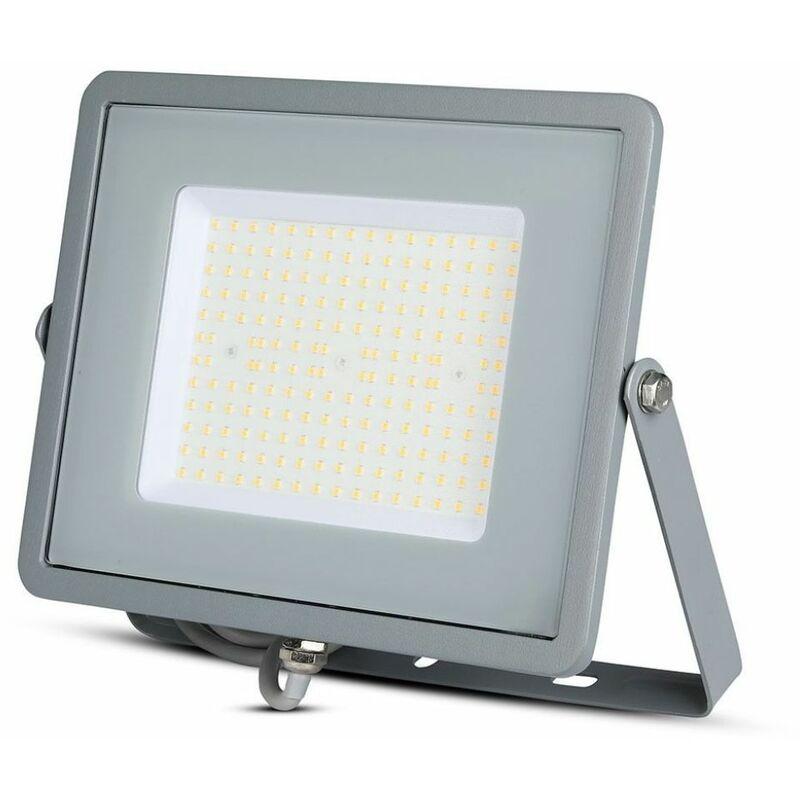 Faro LED Chip Samsung 100W 120Lm/W Colore Grigio 6400K IP65 - V-tac