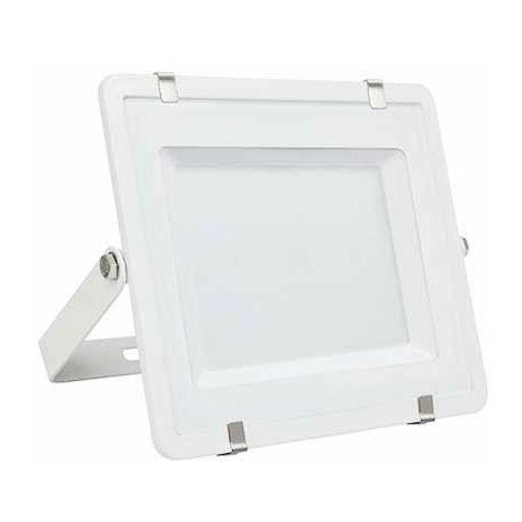 V-TAC PRO VT-150 Projecteur LED 150W slim blanc Chip Samsung SMD blanc chaud 3000K - SKU 478