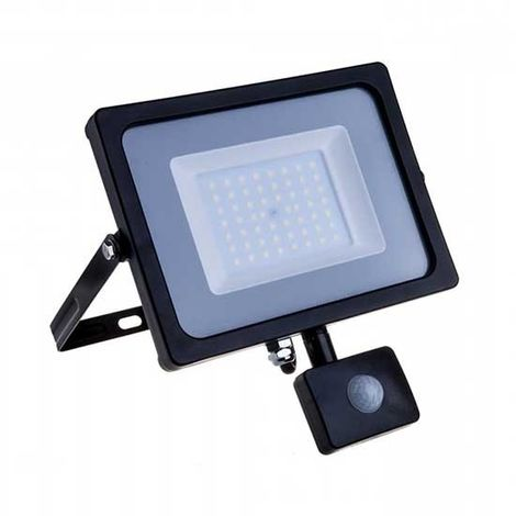 FARO FARETTO FLOODLIGHT LED SMD SLIM 50W 3000K 6000K IP65 BIANCO X ESTERNO V-TAC