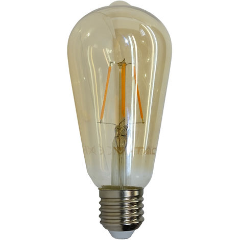 V-TAC VT-1964 ampoule LED E27 4W bulbeux ST64 filament - SKU 4361 VT-1964