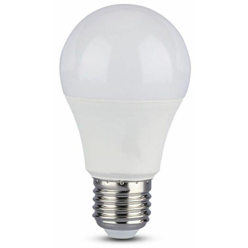 Lampadina LED V-TAC E27 11W A60 con Sensore di Movimento e Crepuscolare 3000K
