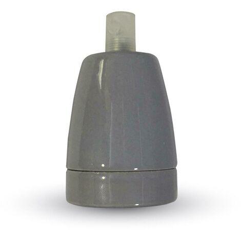 V-TAC VT-799 Adaptateur de douille E27 porcelaine blanc IP20 - SKU 3795
