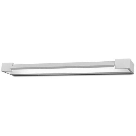 V TAC VT 819 18W Applique murale LED corps rotatif aluminium blanc neutre 4000K IP44 SKU 8534