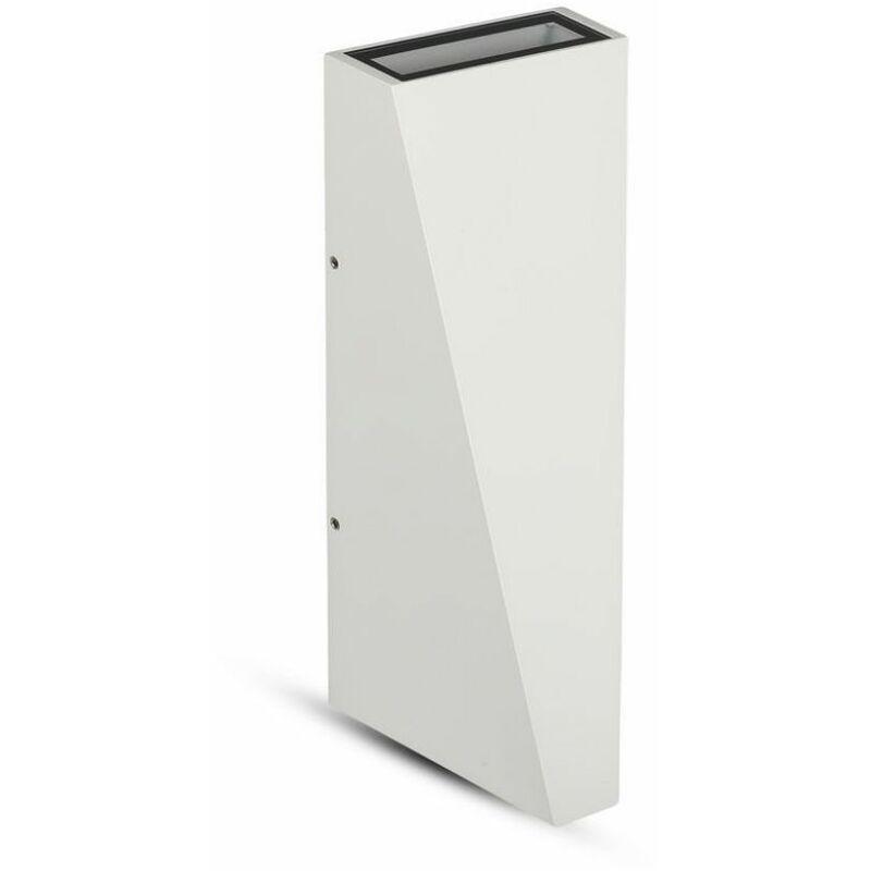 Lampada LED da Muro 6W Doppio Fascio Luminoso Colore Bianco 4000K IP65 - V-tac