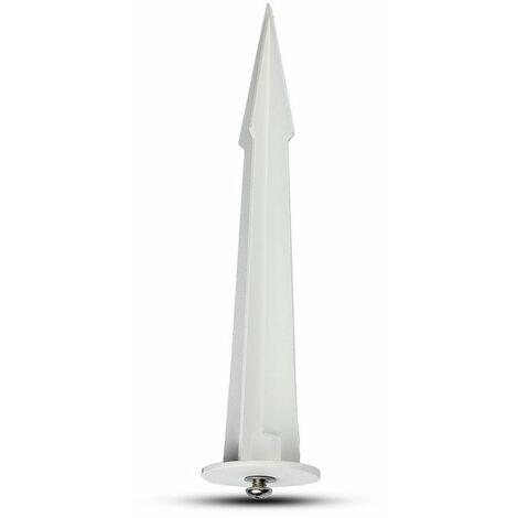 V-TAC VT-854W piquet projecteur led 15cm blanc - SKU 7534