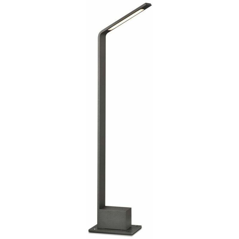 Lampione LED da Esterno 6W Colore Grigio h: 80cm 4000K IP54 - V-TAC