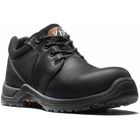 V12 Challenger Womens Safety Work Trainer Shoes Black (Sizes 2-8)