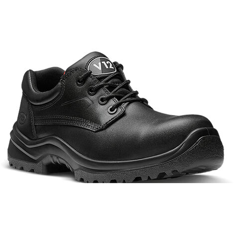 V12 Oxen Lightweight Safety Work Trainer Shoes (Sizes 3-13)