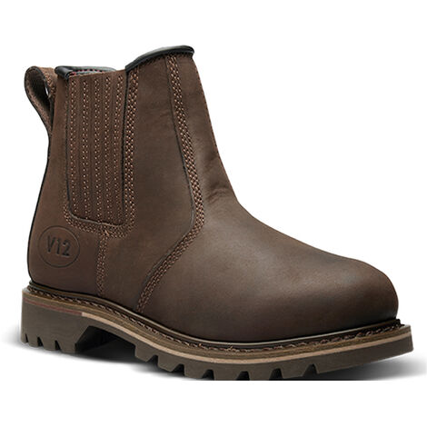 """main image of """"V12 Rancher Non Safety Dealer Boots Brown (Sizes 5-13)"""""""