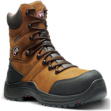 V12 Rocky Waterproof Safety Work Boots - Size 13
