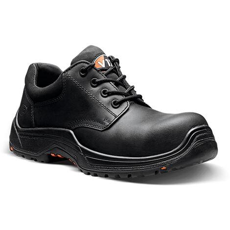 V12 Tiger Safety Work Trainer Shoes Black (Sizes 3-13)