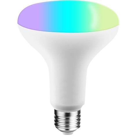 V21-S Tuya, Bombilla LED WIFI inteligente Bombilla LED RGB + W, 11W E27