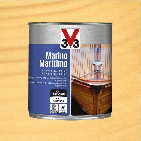 V33 009778 - vernis d'extérieur marin couleur brillant et incolore 750 ml