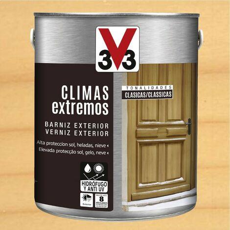 V33 009797 - Barniz exterior Climas Extremos tonalidades clasicas color incoloro acabado brillante 2,5 L