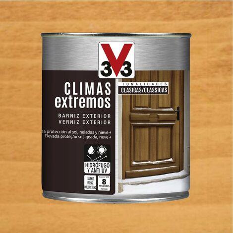 V33 009809 - vernis d'extérieur fini brillant pour climatiseur tonalités couleur classique pin 750 ml