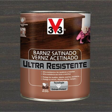 V33 056655 - Barniz interior Ultra Resistente color wengue acabado satinado 750 ml