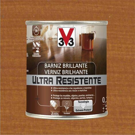 V33 056799 - vernis intérieur Ultra-résistant couleur cerise finition brillante 750 ml