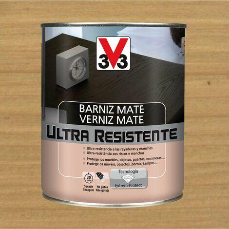 V33 056832 - vernis intérieur Ultra-résistant couleur chêne clair finition mate 750 ml