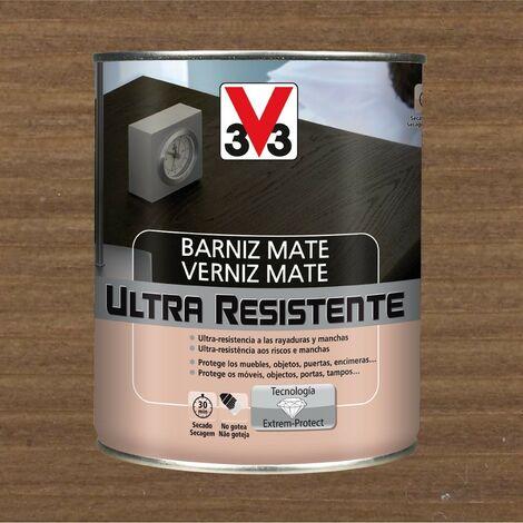 V33 056844 - Barniz interior Ultra Resistente color nogal acabado mate 750 ml
