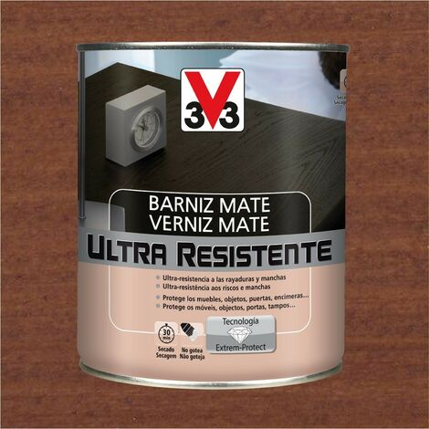 V33 056865 - Barniz interior Ultra Resistente color sapeli acabado mate 0,75L