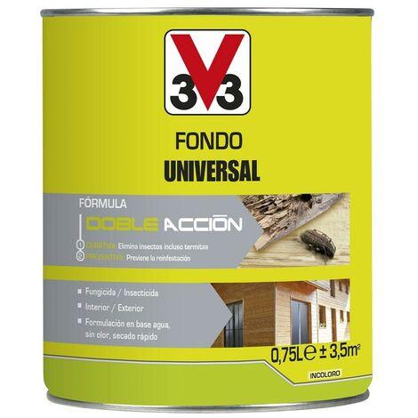 V33 062549 - Traitement polyvalent universel pour bois en plein air finition incolore ml 750