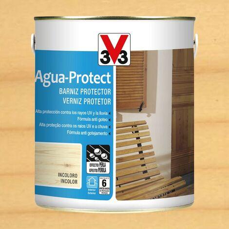 V33 101888 - Barniz exterior Agua Protect color incoloro acabado brillante 2,5 L