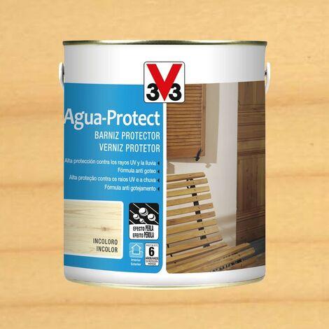 V33 101888 - vernis extérieur de protection contrel\'eau finition brillante incolore 25l