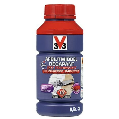 V33 Décapant Dry Technology Multi-supports 0,5 L - Incolore