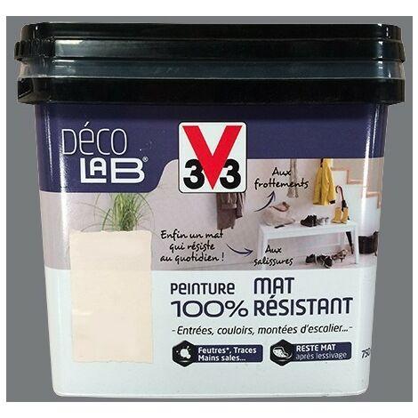 V33 Déco LAB Peinture mat 100% Résistant Roche 2 L - Roche