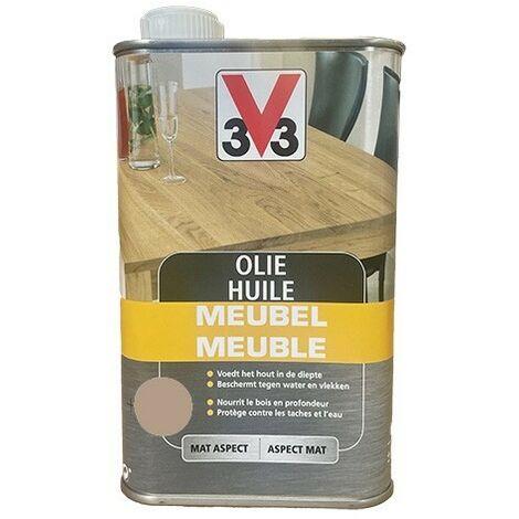 V33 Huile Meuble Déco Smoke 0,5 L