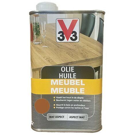 V33 Huile Meuble Déco Teck 0,5 L