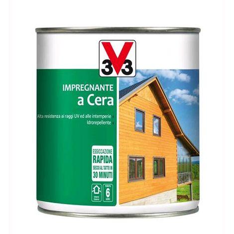 """main image of """"V33 Impregnante a Cera per Legno Trasparente Incolore 2,5 litri"""""""