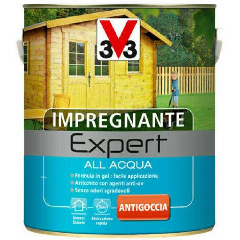 """main image of """"V33 Impregnante per Legno Expert ad Acqua in Gel Interno Esterno Mobili Persiane - Formato: 2,5 Lt - Colore: Douglas"""""""