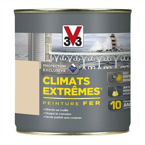 V33 Peinture Climats Extrêmes Fer Sable Brillant 0,25 L - Sable