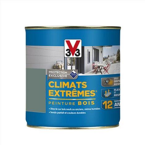 V33 Peinture Climats Extrêmes Garrigue Satin 0,5 L - Garrigue