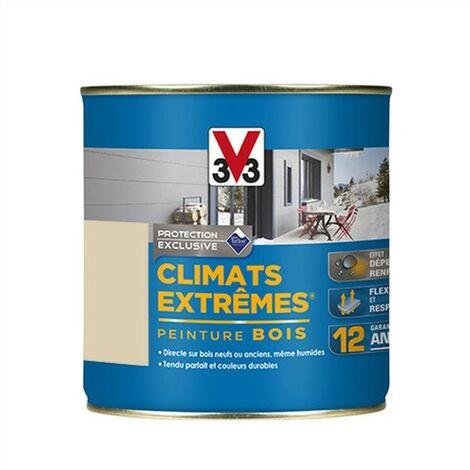 V33 Peinture Climats Extrêmes Sable Brillant 0,5 L - Sable
