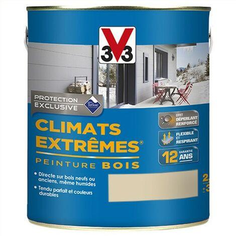 V33 Peinture Climats Extrêmes Sable Satin 2,5 L - Sable