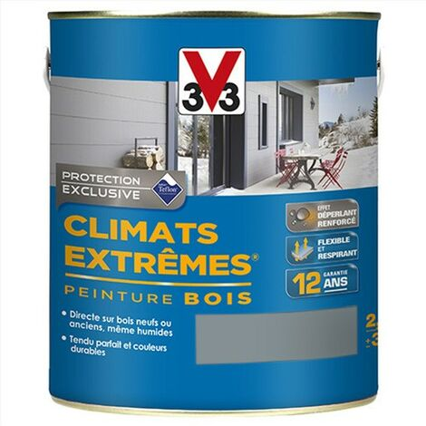V33 Peinture Climats Extrêmes Vent D'Ouest Satin 2,5 L - VentDOuest