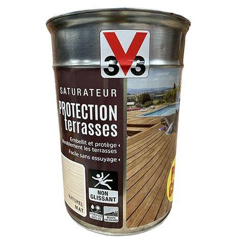 V33 Saturateur Protection Terrasse Naturel 5 L