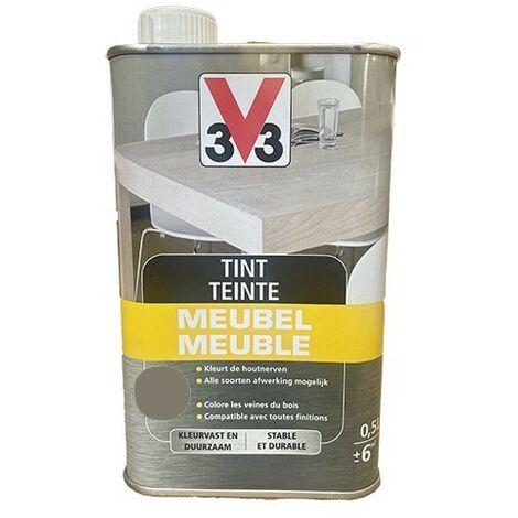 V33 Teinte Meuble Gris fumé 0,5 L