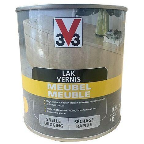 V33 Vernis Meuble Incolore Brillant 0,5 L